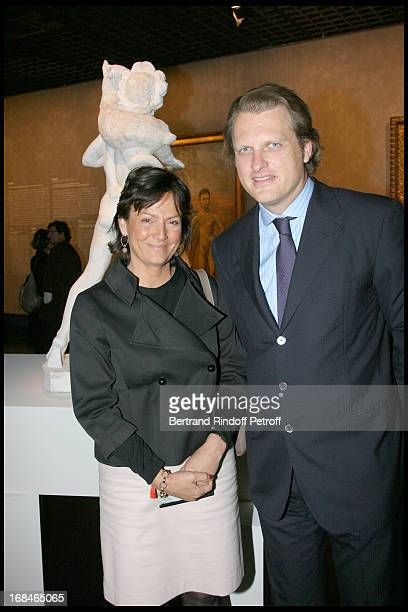 Madame Eric Woerth Alessandro Vallarino Gancia at Private Viewing Of The Exhibition Picasso Et Les Maitres At Grand Palais In paris