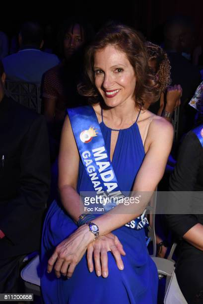 """Madame France 2016 Marie Legault attends the """"Paris Appreciation Awards 2017"""" At The Eiffel Tower on July 8, 2017 in Paris, France."""