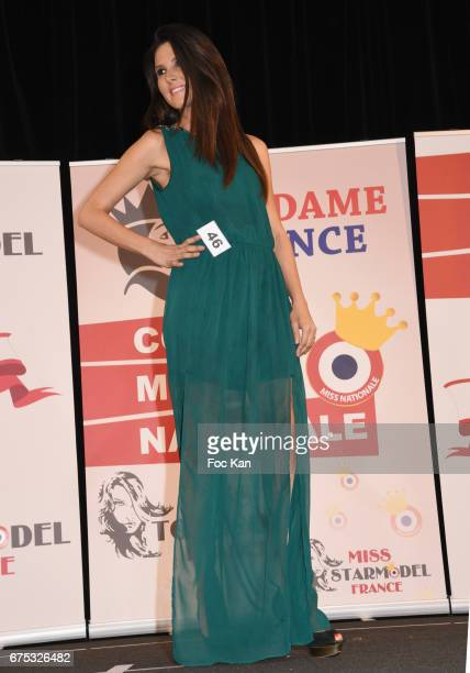 Madame France 28/39 years old Sabrina DutranoisÊ walks the runway during Madame France 2017 Election Ceremonie at Espace MAS on April 30, 2017 in...