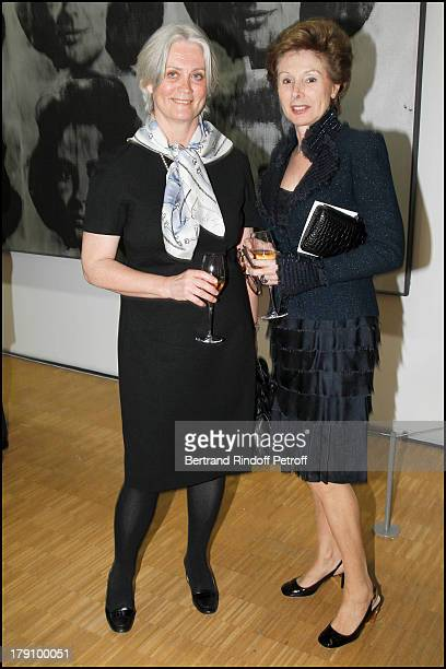 Madame Francois Fillon Penelope Marie Louise De Clermont Tonnerre at The Gala Dinner For The Society Of Friends Of The National Museum Of Modern Art...