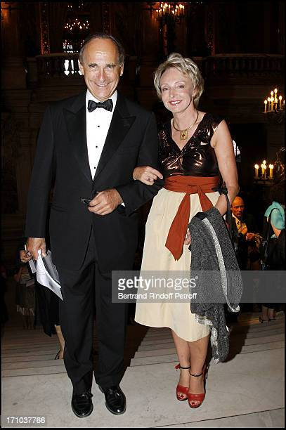 Madame Francois Henrot and her husband at Arop Gala Dinner At Opera Garnier With Rossini's 'La Dame Du Lac'