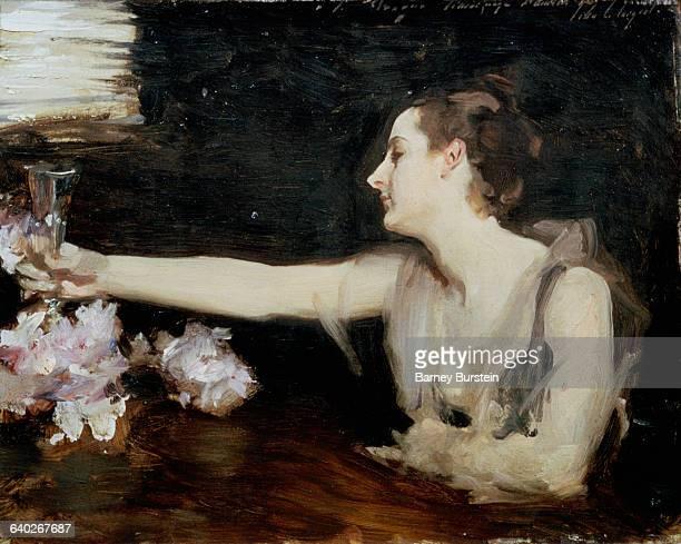Madame Gautreau Drinking a Toast by John Singer Sargent