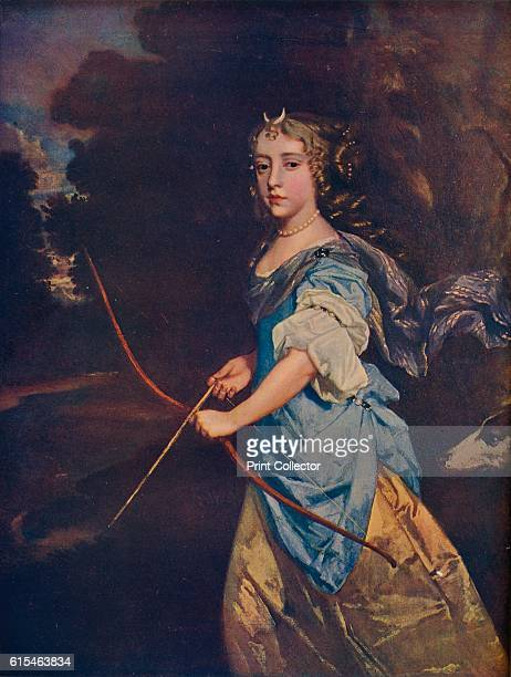 Madame Jane Kelleway as Diana 17th century In Roman mythology Diana was the goddess of the hunt the moon and nature being associated with wild...