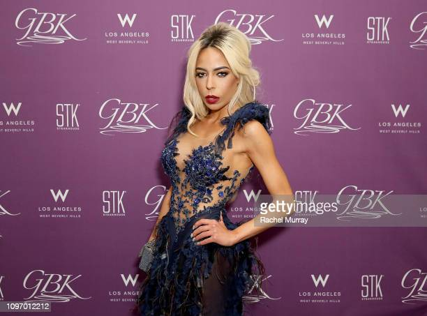 Madame Kaila Methven attends the GBK STK at The W Hotel PreGrammy Lounge on February 9 2019 in Los Angeles California