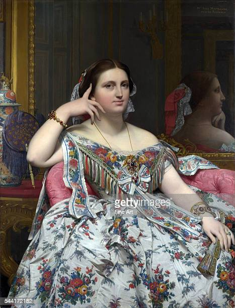 Madame PaulSigisbert Moitessier nee MarieClotildeInes de Foucauld | Located in National Gallery London