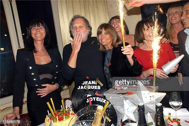 Madame Richard Anthony Jean Jacques Debout Chantal Goya and Daniele Evenou