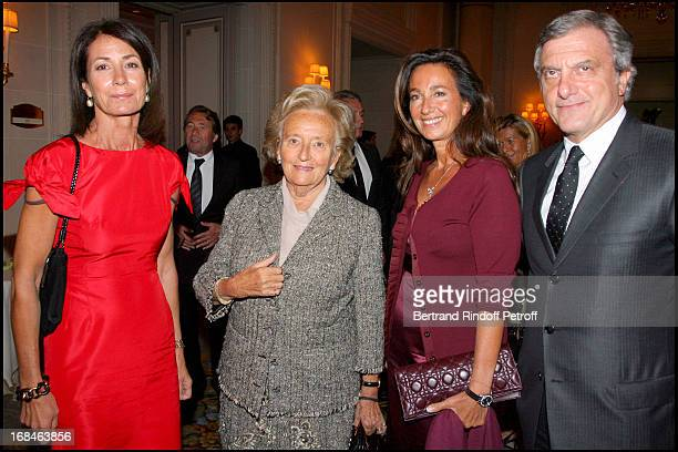 Madame Thierry Breton Bernadette Chirac Sidney Toledano and his wife Katia at Premiere Of Film 'Faubourg 36' At Ugc Normandie In Benefit Of Claude...