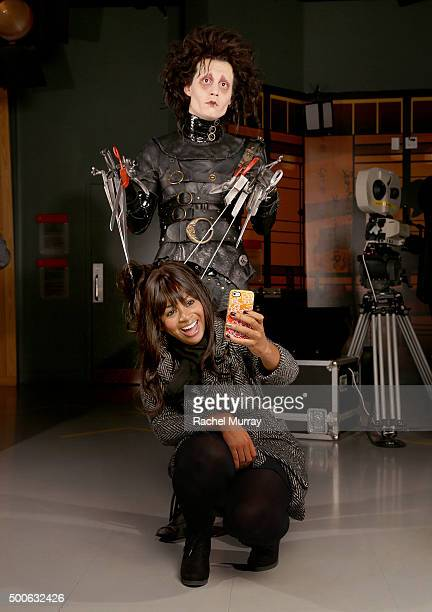 Madame Tussauds Hollywood celebrates the 25th Anniversary of Edward Scissorhands by immortalizing the iconic character played by Johnny Depp in wax...