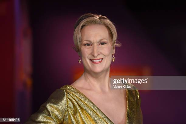 Madame Tussauds Hollywood unveils Meryl Streep on February 23 2017 in Hollywood United States