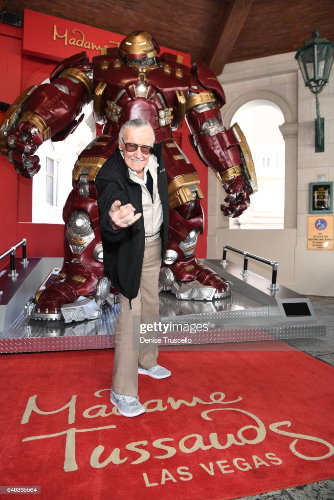 Madame Tussauds Las Vegas And Marvel Unveils Brand New Hulkbuster Figure With Iconic Marvel Mastermind, Stan Lee