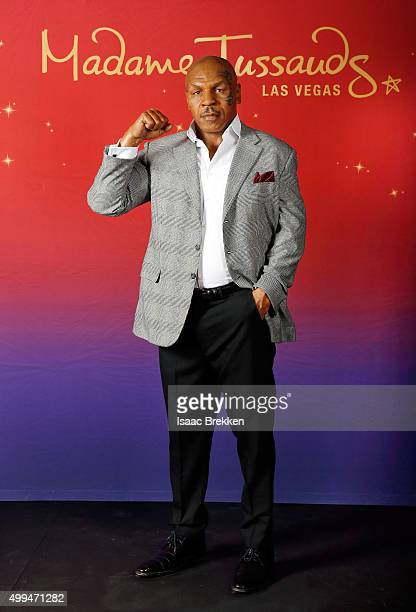 Madame Tussauds Las Vegas unveils the world's first wax figure of boxing legend and entertainer Mike Tyson who played a role in Warner Bros Pictures...
