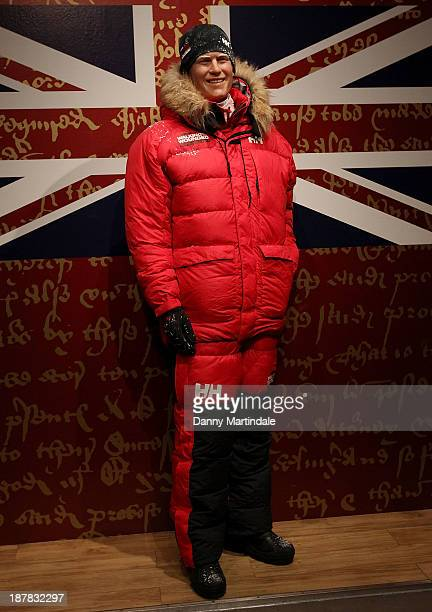 Madame Tussauds preview a waxwork of Prince Harry in a South Pole makeover before he joins a expedition to walk the 208 miles with Walking with the...