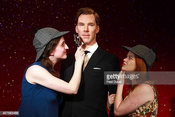 Madame Tussauds unveil the new wax figure of Benedict Cumberbatch at Madame Tussauds on October 21 2014 in London England