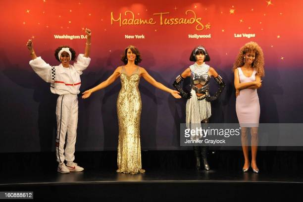 Madame Tussauds unveils four wax figures of Whitney Houston the first time four figures of the same individual have been simultaneously released on...