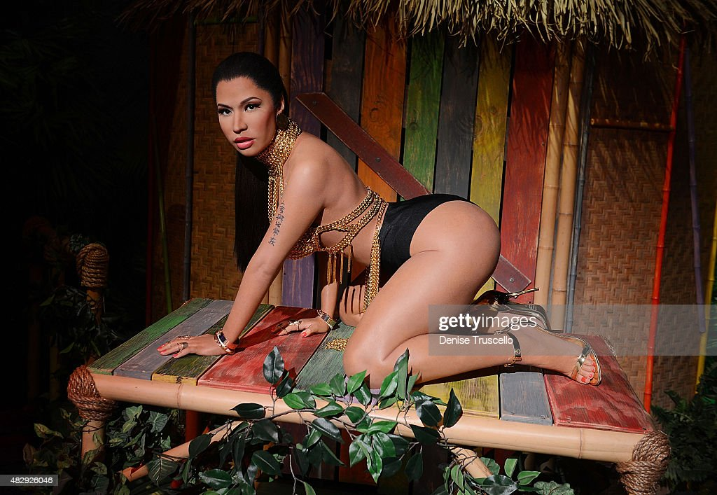 Madame Tussauds unveils the world's first Nicki Minaj Wax Figure In Las Vegas : ニュース写真