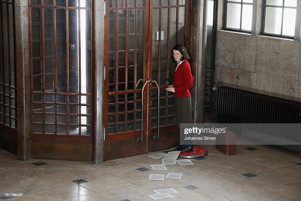 Sophie Scholl Wax Figure In Munich : News Photo