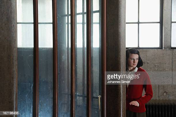 Madame Tussauds wax effigy of Sophie Scholl one of the most famous members of the German World War II antiNazi resistance movement The White Rose is...
