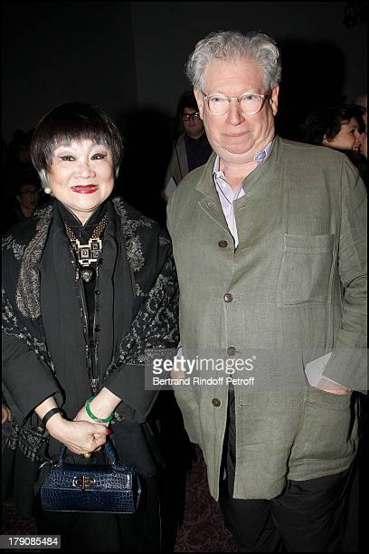 Madame Wang ' JAR'Joel Arthur Rosenthal at The Lanvin Menswear Fashion Show Introducing the Autumn Winter 2011 / 2012 Collection In Paris