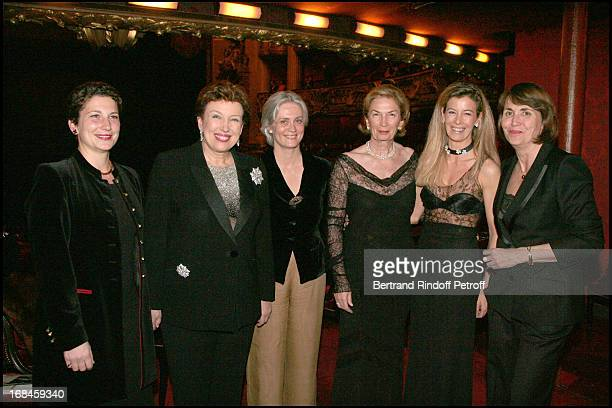 Madame Xavier Darcos Roselyne Bachelot Narquin Madame Francois Fillon Baronne Albert Frere Madame Brice Hortefeux Christine Albanel at L'Arop Gala...