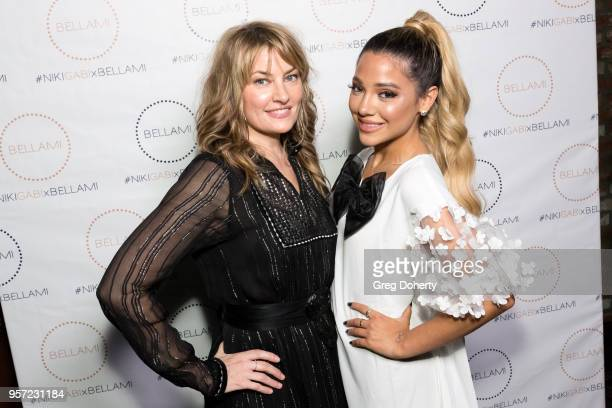 Madchen Amick and Gabi DeMartino attend the Niki Gabi DeMartino X Bellami Collection Launch Party at Avenue on May 10 2018 in Los Angeles California
