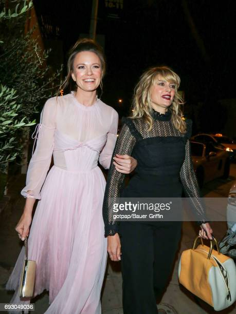 Madchen Amick and Rachel Boston are seen on June 05 2017 in Los Angeles California