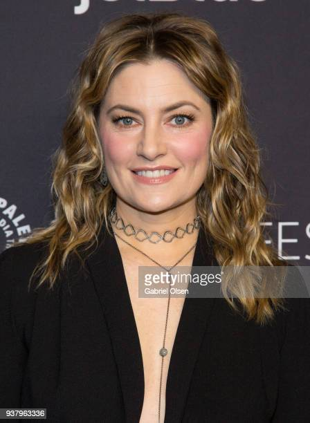 Madchen Amick arrives for the 2018 PaleyFest Los Angeles CW's 'Riverdale' at Dolby Theatre on March 25 2018 in Hollywood California
