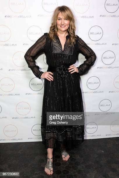 Madchen Amick attends the Niki Gabi DeMartino X Bellami Collection Launch Party at Avenue on May 10 2018 in Los Angeles California