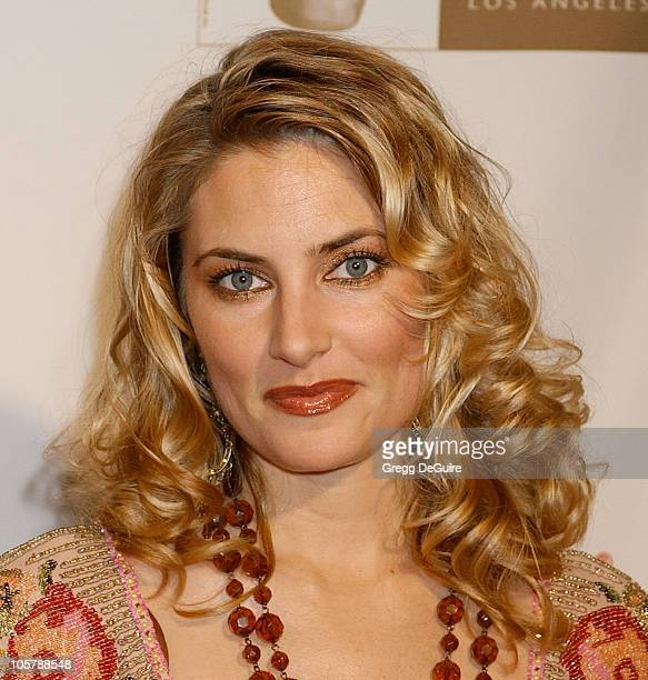 Madchen Amick during 2005 BAFTA/LA Cunard Britannia Awards Arrivals at Beverly Hilton Hotel in Beverly Hills California United States