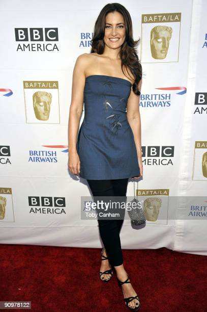 Madchen Amick poses for a picture at the BAFTA LA's 2009 Primetime Emmy Awards TV tea party held at the Intercontinental Hotel on September 19 2009...