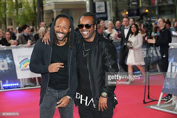 Madcon during the Radio Regenbogen Award 2016 at Europapark Rust on April 22 2016 in Rust Germany