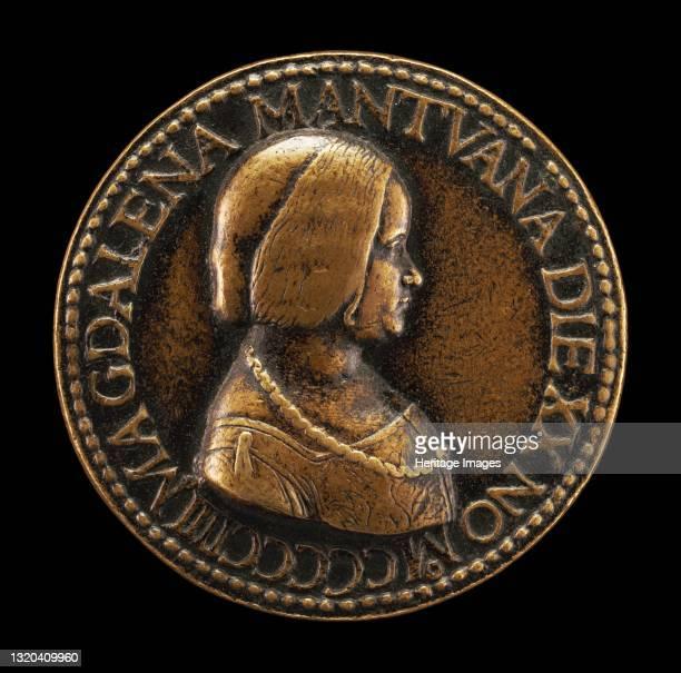 Maddalena of Mantua [obverse], 1504. Artist Unknown.