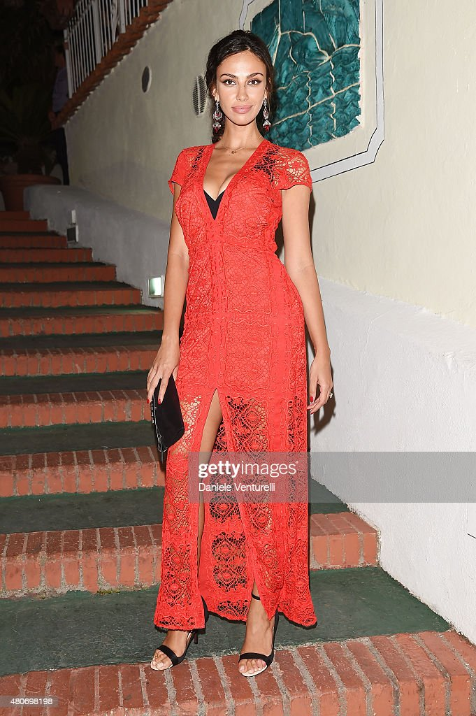 Maddalina Ghenea attends 2015 Ischia Global Film & Music Fest Day 2 on July 14, 2015 in Ischia, Italy.