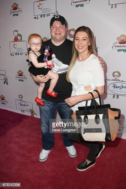 Madden Jae Caparulo John Caparulo and Jamie Marie Caparulo attend the WE ALL PLAY FUNdraiser hosted by the Zimmer Children's Museum at the Zimmer...