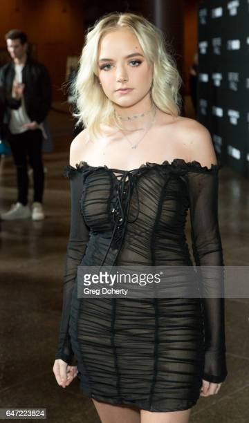 Maddi Bragg attends the Premiere Of Open Road Films' 'Before I Fall' at the Directors Guild Of America on March 1 2017 in Los Angeles California