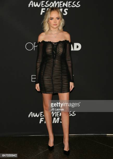 Maddi Bragg attends the premiere of Open Road Films' 'Before I Fall' on March 01 2017 in Los Angeles California