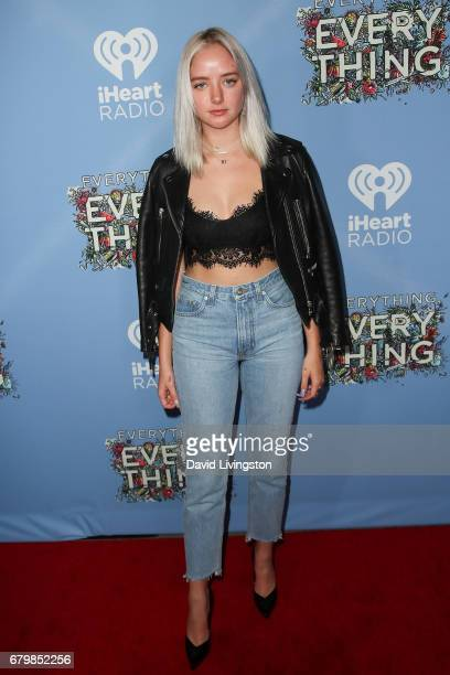 Maddi Bragg attends the screening of Warner Bros Pictures' 'Everything Everything' at the TCL Chinese Theatre on May 6 2017 in Hollywood California