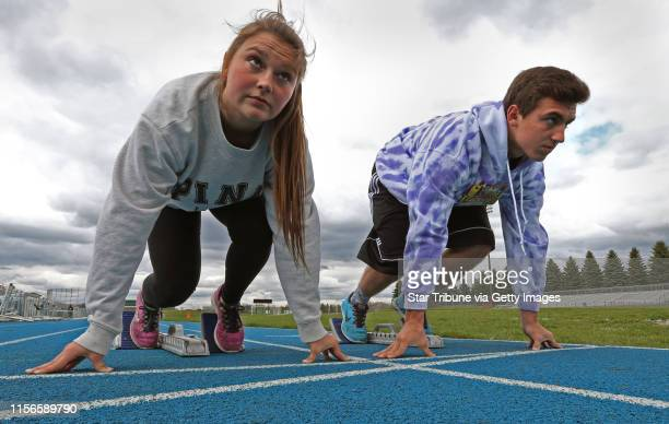 Maddie and Jake Gourley brother and sister sprinters on the Eagan track team Maddie was allstate last year Jake dominated a big elite meet earlier...