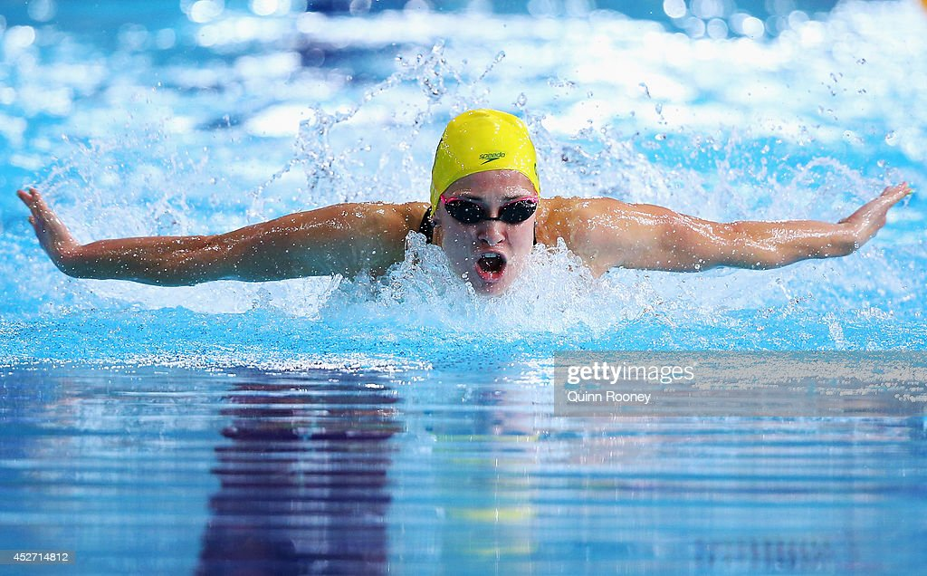 20th Commonwealth Games - Day 3: Swimming : News Photo