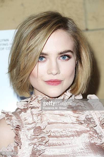 Maddie Hasson attends the premiere of Sony Pictures Classics' 'I Saw The Light' at the Egyptian Theatre on March 22 2016 in Hollywood California