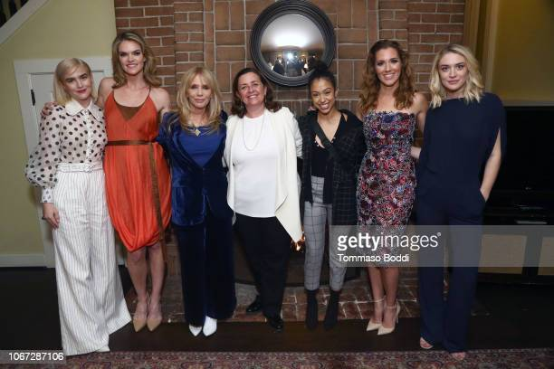 Maddie Hasson Missi Pile Rosanna Arquette Susanne Daniels Liza Koshy Carly Craig and Chelsea Frei attend a Celebration of YouTube Originals at...