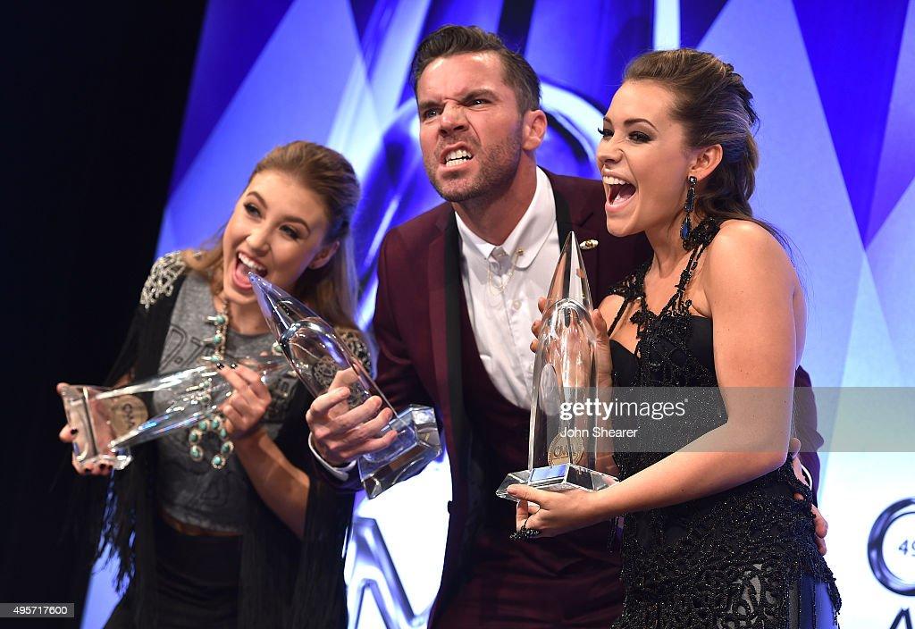 49th Annual CMA Awards - Press Room