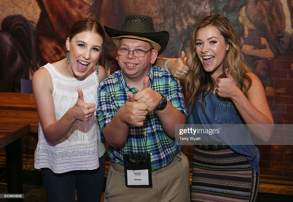 Maddie Marlow and Tae Dye of the Musical duo Maddie & Tae