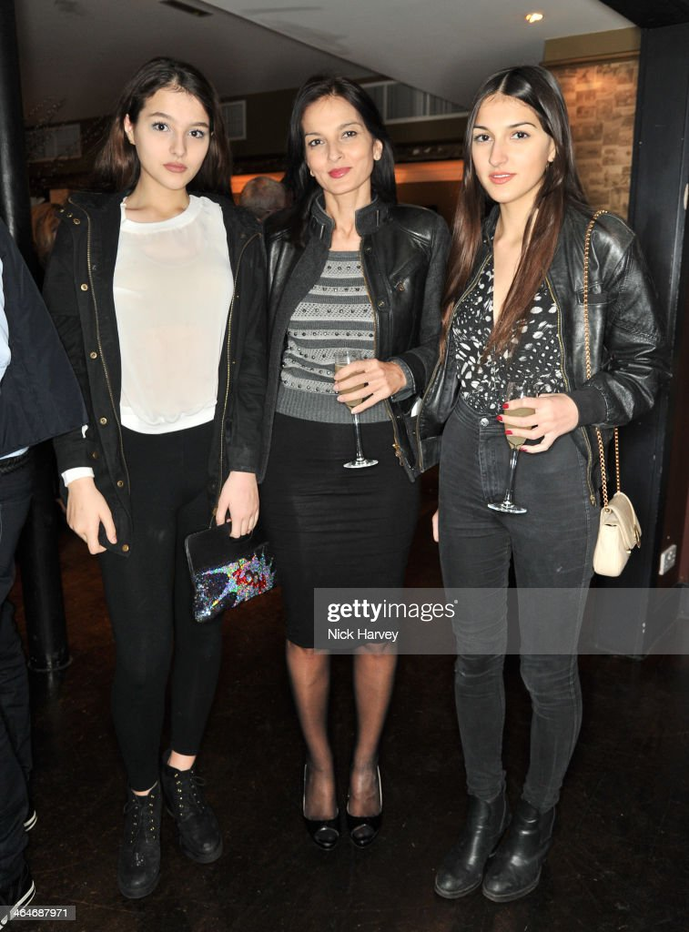 Yasmin Mills: Lauren Mills attend the Madderson London Spring/Summer 2014 womenswear collection launch party at Beaufort House on January 23, 2014 in London, England.