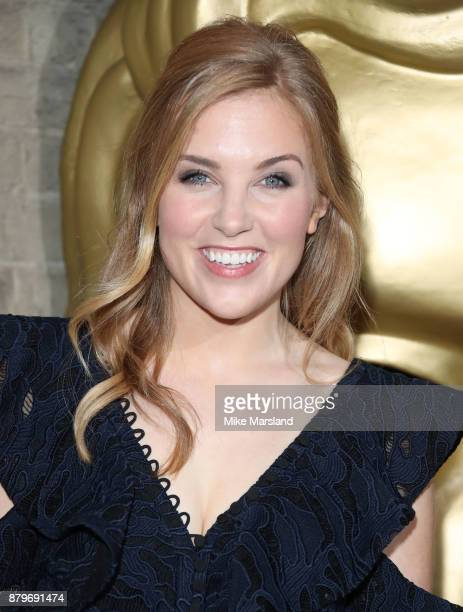 Maddie Moate attends the BAFTA Children's awards at The Roundhouse on November 26 2017 in London England