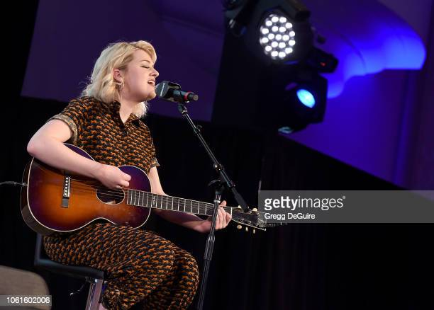 Maddie Poppe attends Billboard's 2018 Live Music Summit Panels Day 2 at Montage Beverly Hills on November 14 2018 in Beverly Hills California
