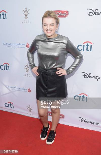 Maddie Poppe attends the 9th annual LA Family Day hosted by the TJ Martell Foundation at The Grove on October 6 2018 in Los Angeles California