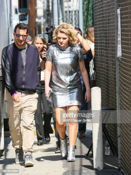 Maddie Poppe is seen arriving at the 'Jimmy Kimmel Live' on May 23 2018 in Los Angeles California