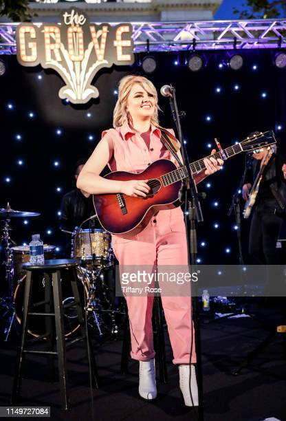 Maddie Poppe performs onstage at Citi Presents Maddie Poppe Live At The Grove on May 16 2019 in Los Angeles California