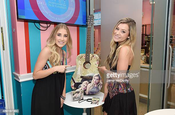 Maddie Tae attend the Maddie Tae Album Release Party at Dylan's Candy Bar on September 1 2015 in New York City