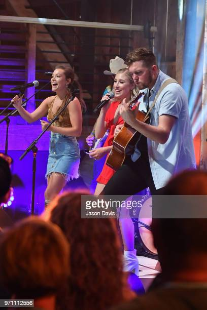 Maddie Tae perform onstage in the HGTV Lodge at CMA Music Fest on June 10 2018 in Nashville Tennessee